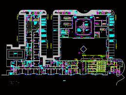 Autocad For Kitchen Design by Staff Accomodation Hotel Kitchen Dwg Plan For Autocad U2022 Designscad