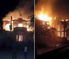 bureau de l 騁at civil le bureau de l état civil et bec de verrettes a été incendié hier