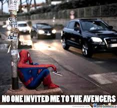 Sad Spider Meme - spider man sad by benster68 meme center