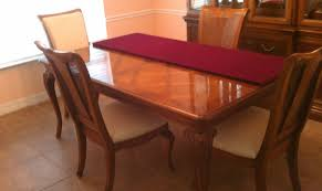 Thomasville Cherry Dining Room Set by Thomasville Dining Room Table 7545