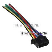 16 pin wire harness for select sony car stereos the wires zone