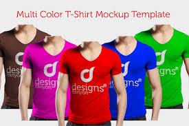 free psd men t shirt mockup template v2 u2013 designscanyon