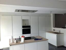 fabriquer hotte cuisine caisson hotte cuisine cuisine 2 fermeture plafond caisson hotte