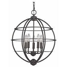 Orb Light Fixture by Orb Pendant Light In Bronze Finish 167 78 Destination Lighting