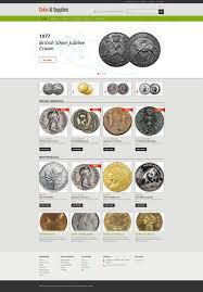 rarity coins woocommerce theme 50554