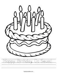 happy birthday dr seuss happy birthday dr seuss worksheet twisty noodle