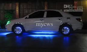 blue light on car 96cm waterproof auto led strip light decorate l for cars online