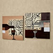 diy kitchen wall decor ideas mosaic small checkered backsplash