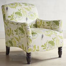 Bedroom Armchairs Frankie Cream U0026 Green Floral Armchair Pier 1 Imports