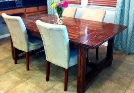 rectangular pine dining table brilliant rustic dining room decoration rectangular cherry ideas