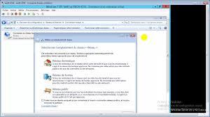 configurer bureau distance windows 7 4 configuration ip interface graphique