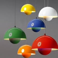 multi colored hanging lights reproduce flowerpot vp1 pendant light and tradition pendant lights