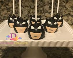 batman cake pops etsy
