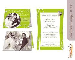 invitation anniversaire mariage d invitation noces d or invitation noces émeraude