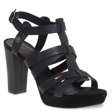 reese wedge sandals in black