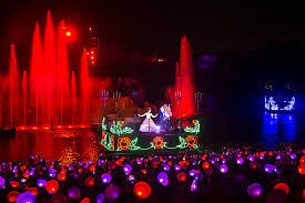 glow show year in review glow with the show debuts at walt disney world