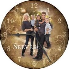 personalized clocks with pictures personalized clocks for the new home gift ideas