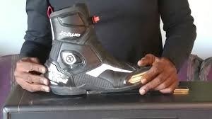 sport motorcycle shoes spidi x two sport boot youtube
