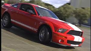 mustang 2007 shelby 2007 ford shelby gt500 review roadshow
