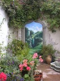 Garden Mural Ideas Garden Mural In Brighton 1 Ev Pinterest Artist Garden