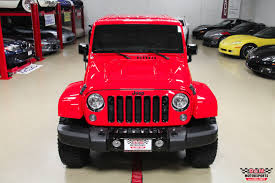 jeep sahara red 2015 jeep wrangler sahara altitude stock m6357 for sale near