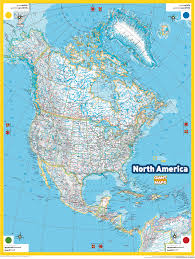 Map Of North America And Can by The Center Of North America Is Probably In Center Nat Geo