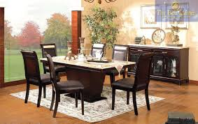best furniture 7 pc dark cherry italian marble top dining set 2027