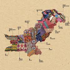 India Map Of States by Artistic Maps Of Pakistan U0026 India Show The Embroidery Techniques