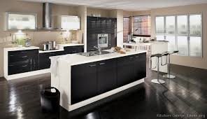 White And Black Kitchen Designs Pictures Of Kitchens Modern Black Kitchen Cabinets Page 2
