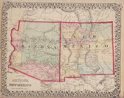 County Map Of Arizona by Arizona New Mexico Map Pictures