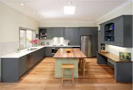 awesome circular cooking space for comfy latest kitchen trend
