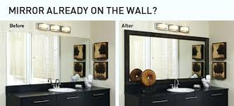 Custom Framed Bathroom Mirrors Custom Framed Bathroom Mirrors This Picture Here Custom