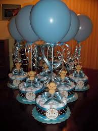 baby shower centerpieces for boy image detail for baby shower diapers centerpiece with without by