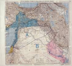 Political Map Of The Middle East by The Map That Ruined The Middle East The Tower