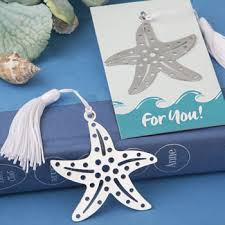 Beach Themed Gifts Book Lovers Collection Starfish Bookmarks For Beach Themed Favors