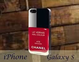 chanel nail polish phone case on the hunt
