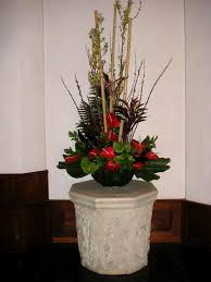large floral arrangement for a hotel lobby california flower