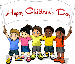 children s kids with happy children s day banner