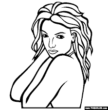Famous People Online Coloring Pages Page 1 Coloring Page Of