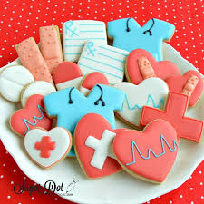 Icing To Decorate Cookies Sugar Dot Cookies Sugar Cookies With Royal Icing For Doctors And