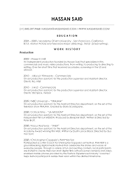 transform independent filmmaker resume with additional film resume