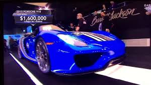 voodoo blue porsche gary selling the 1 6m porsche 918 in voodoo blue youtube
