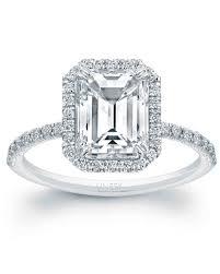 and emerald engagement rings emerald cut engagement rings martha stewart weddings