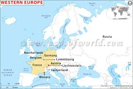 updated map of europe western europe map western european countries