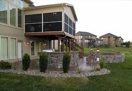 low deck patio home u0026 gardens geek