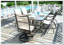 Sling Back Patio Chairs Ideas Sling Back Patio Chairs And Patio Furniture Replacement 19