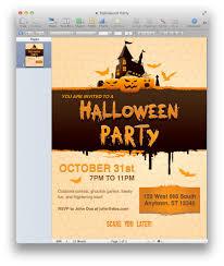 Halloween Birthday Party Invitation Halloween Party Invitation Vector Illustration Free Vector 4vector