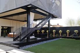 Free Standing Stairs Design Freestanding Stairways Modern Landscape Las Vegas By Jd