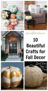 arts and crafts for fall decor
