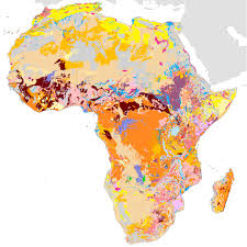 World Map Of Africa by Soil Atlas Of Africa And Its Associated Soil Map Data Esdac